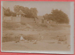 44  SAINT  NAZAIRE   PHOTO    ANCIENNE  ALBUMINE 1903    VILLES  MARTIN   LE  FORT - Lieux