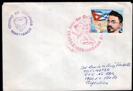 Cuba - 1988 - Lettre - Cachet Special - Envoyé En Argentine - Covers & Documents