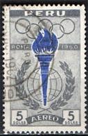 PERU' - 1961 - OLIMPIADI DI ROMA DEL 1960 - USATO - Pérou