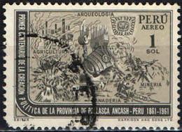 PERU' - 1962 - AGRICOLTURA - INDUSTRIA E ARCHEOLOGIA DELLA PROVINCIA DI PALLASCA ANCASH - USATO - Pérou