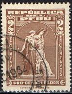 PERU' - 1962 - PROTEZIONE - HARRISON & SONS LTD - USATO - Pérou