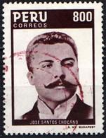 PERU' - 1985 - JOSE SANTOS CHOCANO - POETA - USATO - Pérou
