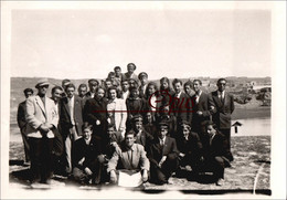 Snapshot - 6x9 Cm   1930/40   Group Of Teachers And Students. * - Profesiones