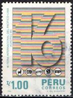 PERU' - 1986 - FIERA INTERNAZIONALE DEL PACIFICO A LIMA - USATO - Pérou