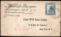 Jamaica - 1919 - Letter - Comertial - Jamaïque (...-1961)