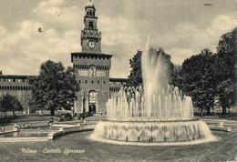 MILANO - CASTELLO SFORZESCO - F.G - Milano (Milan)