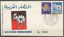 MAROC 1979 FDC Enveloppe Oblitération 1er JOUR Y&T N° 837  Et 838 - Marokko (1956-...)