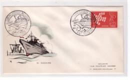 FRANCE - Paquebot France - Départ De Saint Nazaire Le 19-11-1961 - 1960-1969