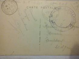 Affranchissement Militaire Ballons De ? 1er Secteur NO1 ? - 5 Fondettes Château De Chatigny I. Et L. - 1940 - Guerra 1939-45