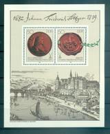 Allemagne - RDA 1982 - Y & T Feuillet N. 63 - Johann Friedrich Böttger (Michel Feuillet N. 65) - Blocks & Kleinbögen