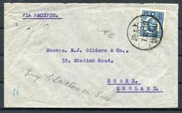 China Mercantile Bank Of Shanghai Cover - England - 1912-1949 Republic