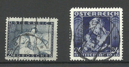 ÖSTERREICH Austria 1935 & 1939 Michel 597 & 627 O Muttertag Mutter & Kind - Used Stamps