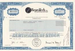 Shares:    ReproTech Inc - 1000 Shares From 1990   (LAR7-24) - Sin Clasificación