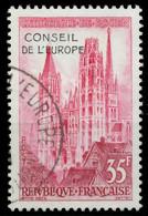 FRANKREICH DIENSTMARKEN EUROPARAT Nr 1 Gestempelt X05B156 - Gebraucht