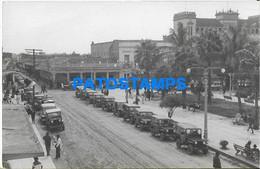 172708 BOLIVIA SANTA CRUZ DE LA SIERRA VISTA PARCIAL & AUTOMOBILE CAR YEAR 1963 POSTAL POSTCARD - Bolivie