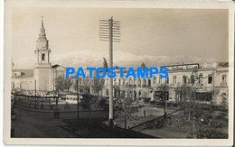 172709 CHILE SANTIAGO CHURCH IGLESIA SAN FRANCISCO YEAR 1929 POSTAL POSTCARD - Chili