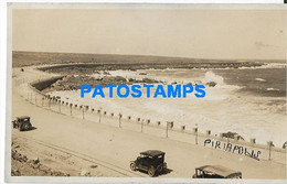 172712 URUGUAY PIRIAPOLIS VISTA DE LA PLAYA BEACH POSTAL POSTCARD - Uruguay