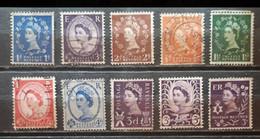 INGLATERRA. Elisabeth II. Lote De Sellos Usados. - Used Stamps