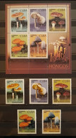 CARiBE 2002 MICOLOGIA. HB + SERIE COMPLETA. MNH ** - Unused Stamps
