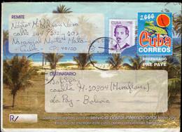 Cuba - 2000 - Aerogramme - Lettre - Covers & Documents