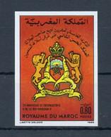 1986, Marokko, 1085 U, ** - Marokko (1956-...)