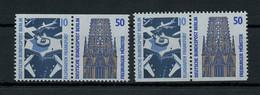1989, Berlin, W 83+84, ** - Zusammendrucke