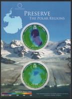 Süd-Georgien 2009 - Mi-Nr. Block 19 ** - MNH - Schutz Der Polargebiete - South Georgia