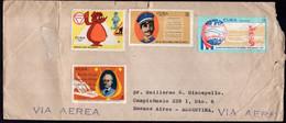 Cuba - 1971 - Lettre - Par Avion - Envoyé En Argentina - Covers & Documents