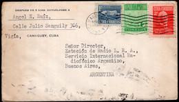 Cuba - 1952 - Lettre - Envoyé En Argentina - Covers & Documents