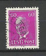 Estland Estonia 1938 O TALLINN-TELEGRAAF Michel 126 Telegraph - Estonia
