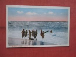 Bathing Scene    Bradley Beach.   New Jersey >         Ref 5231 - Unclassified