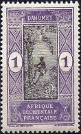Dahomey 1913 - Mi 42 - YT 43 ( Man Climbing Oil Palm ) MNH** - Unused Stamps