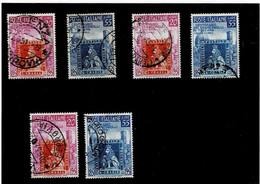 """ITALIA REPUBBLICA ,""""TOSCANA"""",3 Serie Complete Usate Selezionate ,qualita Ottima - 1946-60: Used"""