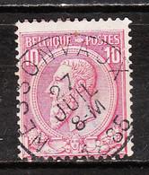46  Oblitération Centrale NESSONVAUX - LOOK!!!! - 1884-1891 Leopold II