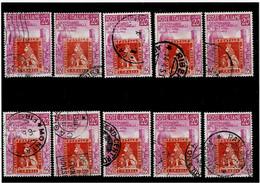 """ITALIA REPUBBLICA ,""""TOSCANA"""",10 Pezzi Del 20 Lire ,usati ,selezionati ,qualita Ottima - 1946-60: Used"""