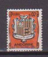 ANDORRE          N° YVERT  :  153 B  NEUF AVEC CHARNIERES         ( CH     4 / 33 ) - Ungebraucht