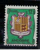 ANDORRE          N° YVERT  :  155  A NEUF AVEC CHARNIERES         ( CH     4 / 33 ) - Ungebraucht