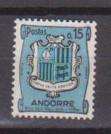 ANDORRE          N° YVERT  :  156 NEUF AVEC CHARNIERES         ( CH     4 / 33 ) - Ungebraucht