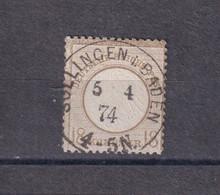 Deutsches Reich ,Brustschild ,1872  ,   ,Mi.Nr  11  Gestempelt, Katalog 500,- - Gebraucht