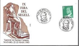 MATASELLOS  1983 MATARO - 1981-90 Storia Postale