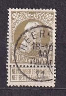 [75_0035] Zegel 75 Met Cirkelstempel Neerpelt Scan Voor- En Achterzijde - 1905 Thick Beard