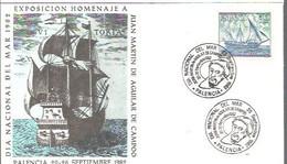 MATASELLOS  1982 PALENCIA - 1981-90 Storia Postale