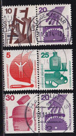 Germany , 3 Combinations From Booklets, Vfu. Cv 7,50 Euro - Gebraucht