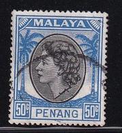 Penang 1954, Minr 40 Vfu - Penang