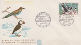 Enveloppe  FDC  1er  Jour   FRANCE   Oiseau  :  MACAREUX    1960 - 1960-1969