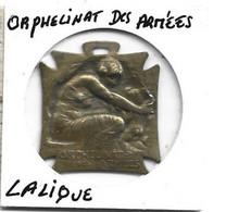 Medaille - Orphelinat Des Armées - Signé R . LALIQUE - Ohne Zuordnung