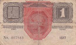 Autriche - Billet De 1 Krone - 1er Décembre 1916 - P49 - Austria