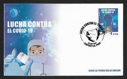 Peru FDC Covid 19 , Pandemic , Mint - Pérou