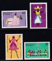 St. Vincent Grenadines 1985, Traditional Dances, Complete Set, MNH. Cv 4,20 Euro - St.Vincent & Grenadines
