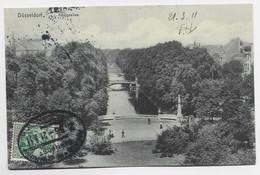 GERMANY 5C AU RECTO POSTKARTE AMBULANT AACHEN HOLZMINDEN 21.3.1911 - Briefe U. Dokumente